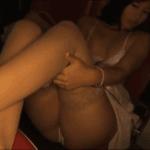 佐々木麻衣 映画館で上映中に発情し服を脱いで下着姿になるアイドル