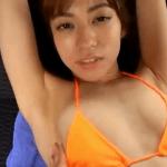 大澤玲美 ビキニ姿でお尻や美乳をマッサージされるアイドル