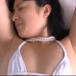 大島珠奈 M字開脚した後激しく擬似セックスするアイドル