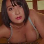 紺野栞 和室で服やパンストを脱いで下着姿になるアイドル