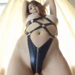 森咲智美 ニプレス姿で擬似フェラしたり擬似セックスするアイドル