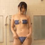 佐倉あき お風呂で胸を揉み解しながら洗うアイドル