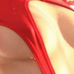 生田奈々 乳首ポッチした過激なレオタードを脱いで全裸になるアイドル