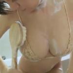 RaMu お風呂でHカップバストを揺らせながら洗うアイドル
