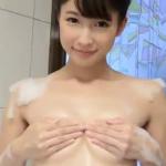 川崎あや お風呂で泡まみれになったあと手ブラするアイドル