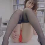 池田裕子 オフィスでタイトスカートや黒パンストを脱いで下着姿になるOL