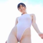 東雲うみ 超ハイレグの競泳水着を着るアイドル