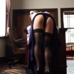 COCO メイド服を脱いで下着姿になるアイドル